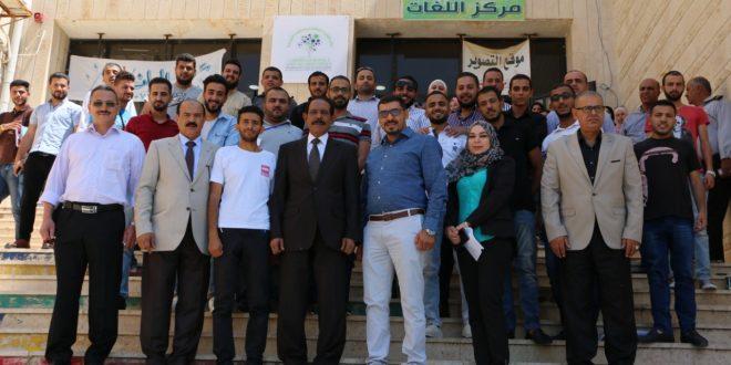 """رئيس جامعة جرش  يفتتح فعاليات مبادرة """"أمان"""""""