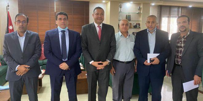 رئيس الجامعة بالوكالة يستقبل الدكتور أبو الفضل عبده من الوكالة الألمانية للتعاون الدولي GIZ